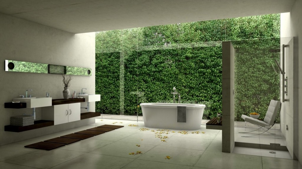 MGH Renovations White-modern-bathroom-design